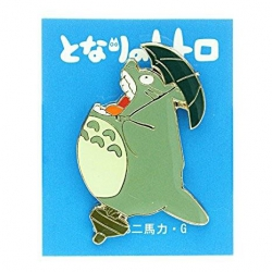 My Neighbor Totoro Pin Badge Big Totoro Roar 4cm