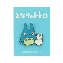 My Neighbor Totoro Pin Badge Middle & Small Totoro