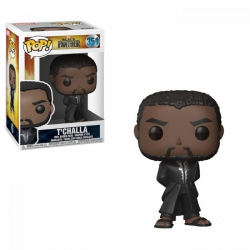 Funko Pop T'Challa Black Panther movie Marvel black robe