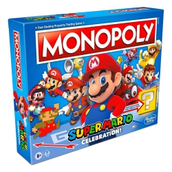 Super Mario Celebration Board Game Monopoly English Version