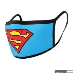 Baumwollmaske 2-pack: Superman