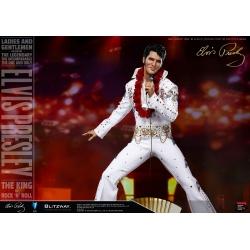 Elvis Presley Superb Scale Hybrid Statue 1/4 Elvis Aaron