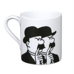 Kuifje beker Janssens - Tintin mug Dupondt