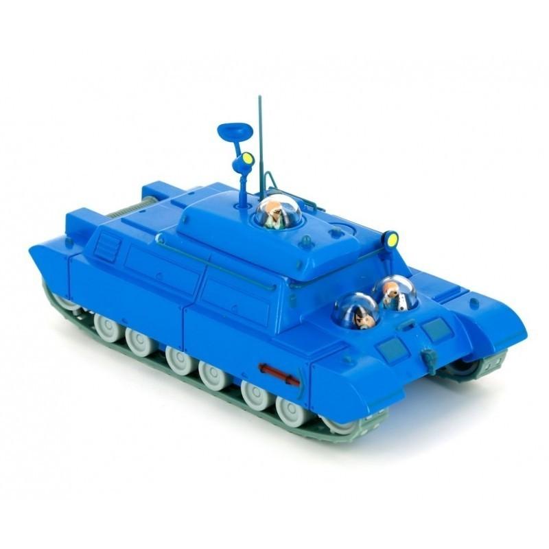Kuifje Blauwe Tank - Raket naar de Maan