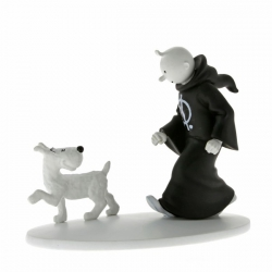Tintin with toga and Bobbie 12.5cm