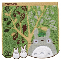 Studio Ghibli My Neighbor Totoro Mini Towel Acorn Tree 25 x 25