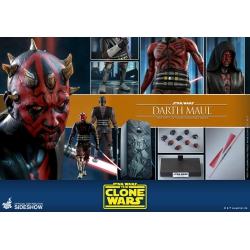 Hot Toys Star Wars: The Clone Wars - Darth Maul 1:6 Scale Figure