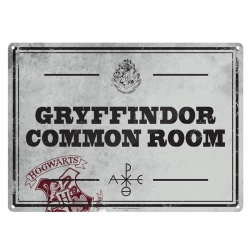 Harry Potter: Common Room Metal Sign