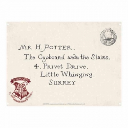 Harry Potter: Privet Drive Letter Metal Sign