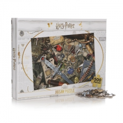 Harry Potter: Marauder's Map 500 Piece Puzzle
