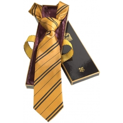 Harry Potter: Hufflepuff Tie in gift box (silk)