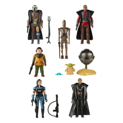 Star Wars The Mandalorian Retro Collection Action Figures 10 cm