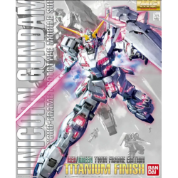 Gundam Unicorn: MG - Red Green Twin Frame Ed. Titanium 1:100