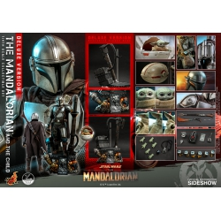 Hot Toys Star Wars The Mandalorian Action Figure 2-Pack 1/4 The