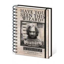 Harry Potter: Wanted Sirius Black A5 Notebook