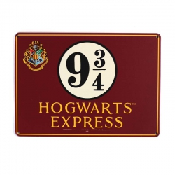 Harry Potter: Hogwarts Express Metal Sign