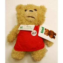 Ted 8 inch (20cm) Talking Plush Apron