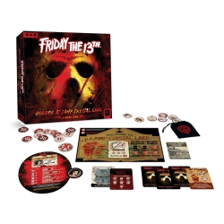 Friday the 13th Board Game Horror at Camp Crystal Lake English