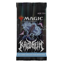 Magic Booster Kaldheim Collector 1x booster pack (15 cards)