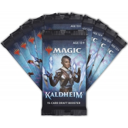 Magic draft booster Kaldheim 1 piece
