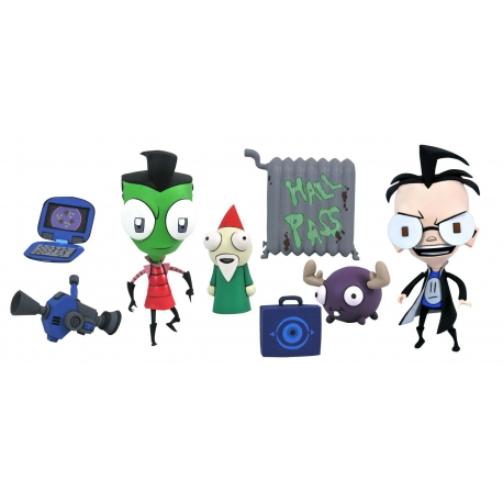 Invader Zim: Series 1 - Deluxe Zim in Boy Disguise and Dib