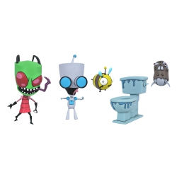 Invader Zim: Series 1 - Deluxe Zim and Gir Action Figure Set