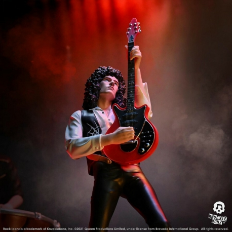 Rock Iconz: Queen - Brian May Statue 1:9