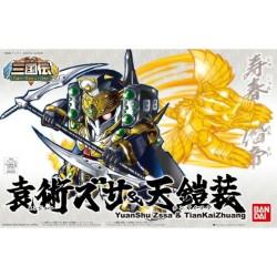 Gundam Model Kit BB408 YuanShu Zssa &TianKaiZhuang
