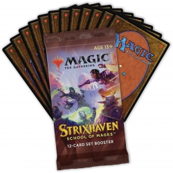 MTG Magic the Gathering: Strixhaven Set booster (1 booster)