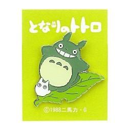 My Neighbor Totoro Pin Badge Totoro Leaf 4cm