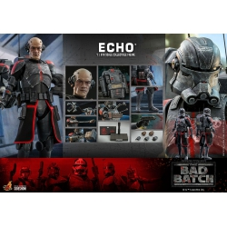 Hot Toys Star Wars The Bad Batch Action Figure 1/6 Echo 29 cm
