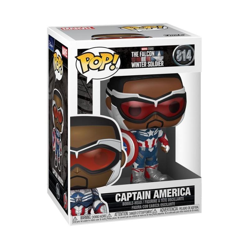 Funko Pop! Marvel: Falcon & The Winter Soldier: Captain America