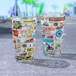 Nintendo Mario Kart Glass