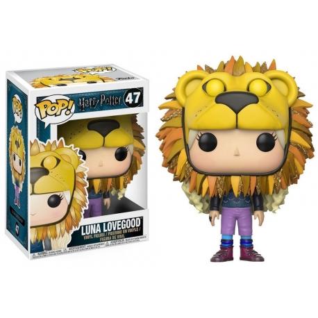 Funko Pop Harry Potter – Luna Lovegood with Lion Head no. 47