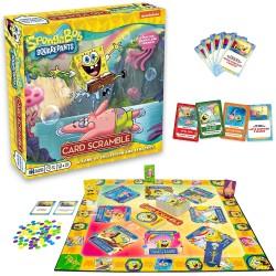 SpongeBob Board Game Card Scramble English Version