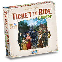 Ticket to Ride 15th Anniversary Deluxe Edition (NL editie)