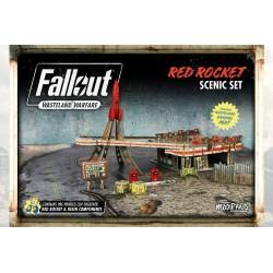 Red Rocket Scenic Set | Fallout: Wasteland Warfare Miniatures