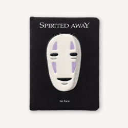 Spirited Away: No Face Plush Journal