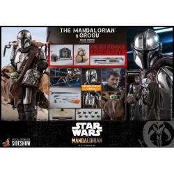 Hot Toys The Mandalorian- 1:6 The Mandalorian & Grogu Set