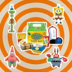 SpongeBob SquarePants: ReAction Figure 4-Pack Krusty Krab Meal