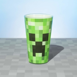 Minecraft: Creeper Glass