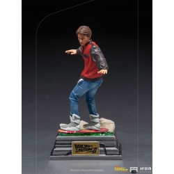Back to the Future 2: Marty McFly on Hoverboard 1:10 Scale