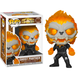 Funko Pop! Marvel: Infinity Warps: Ghost Panther