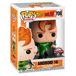 Funko Pop! Anime: DragonBall Z - Android 16 (Special Edition)