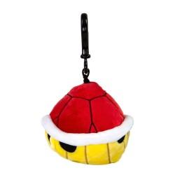 Nintendo: Mario Kart Clip-On Plush Hanger Red Shell 10 cm
