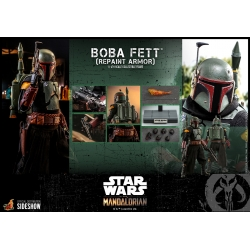 Hot Toys The Mandalorian - Boba Fett Repaint Armor 1:6 Scale