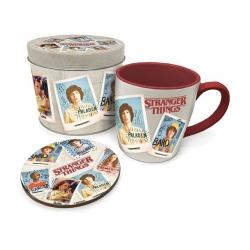 Stranger Things Mug & Coaster Tin Set