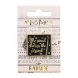 Harry Potter: Wand Chooses the Wizard Enamel Pin Badge