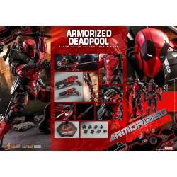 Hot Toys Marvel: Die Cast Armorized Deadpool 1:6 Scale Figure