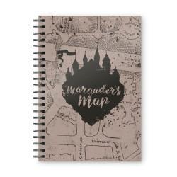 Harry Potter: Marauder's Map Spiral Notebook